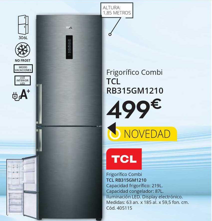 Conforama Frigorífico Combi Tcl Rb315gm1210