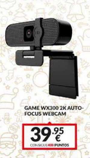 Game Game Wx300 2k Auto-focus Webcam