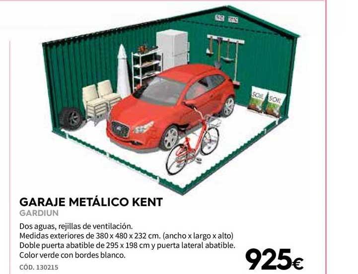 Ferrokey Garaje Metálico Kent Gardiun