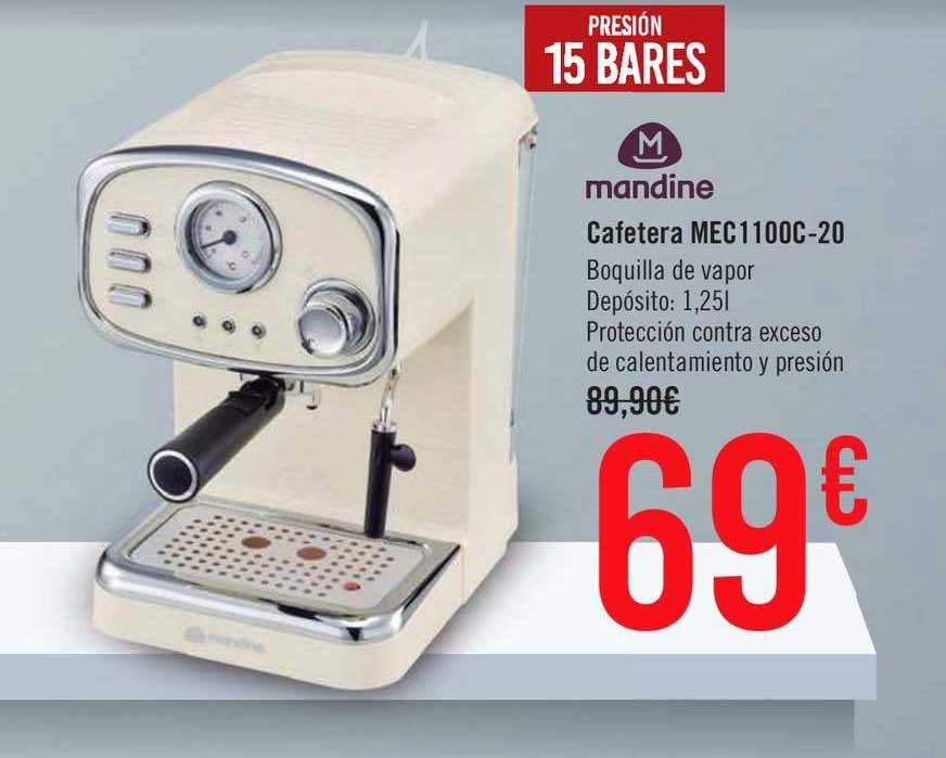 Carrefour Market Mandine Cafetera Mec1100c-20
