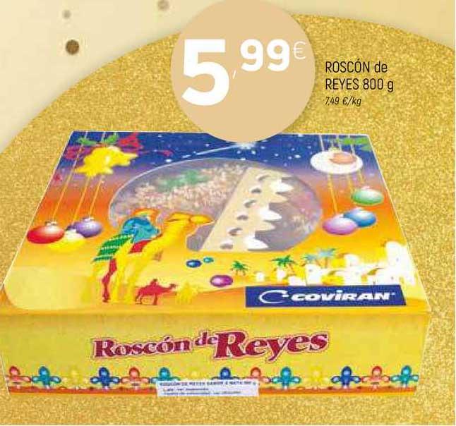 Coviran Roscón De Reyes 800 G