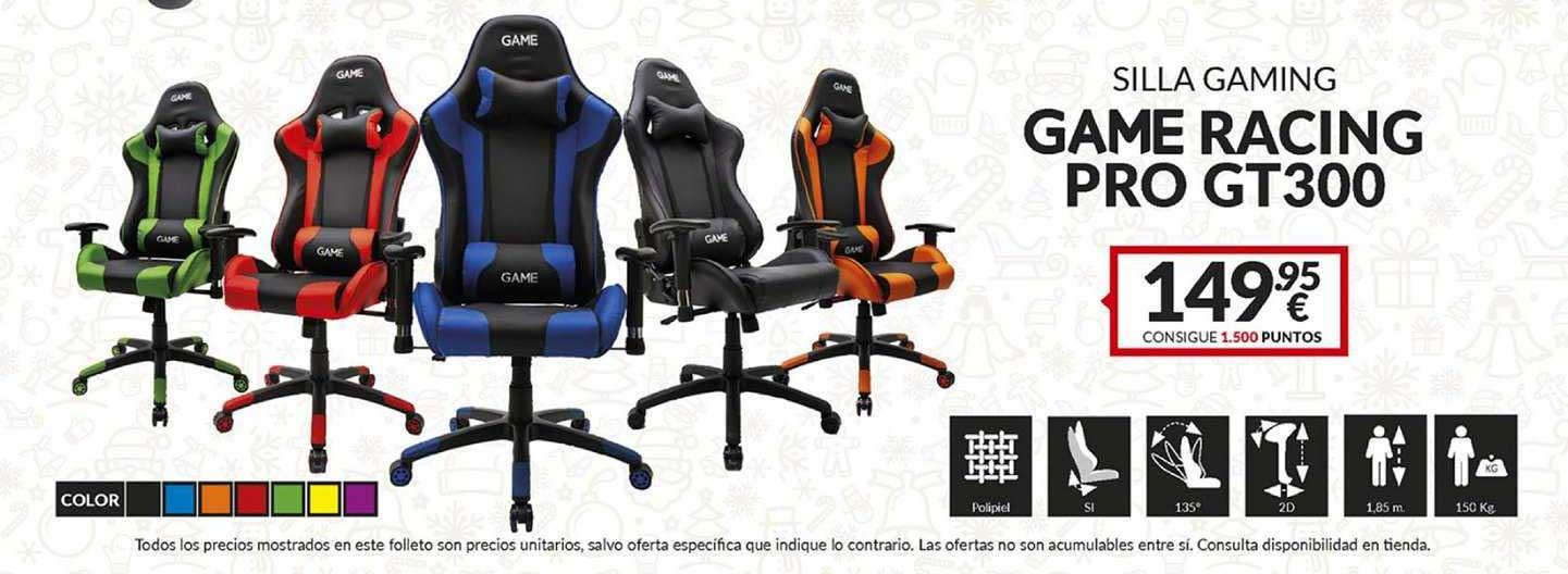 Game Silla Gaming Game Racing Pro Gt300