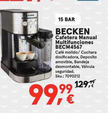 Worten Becken Cafetera Manual Multifunciones Becm4567