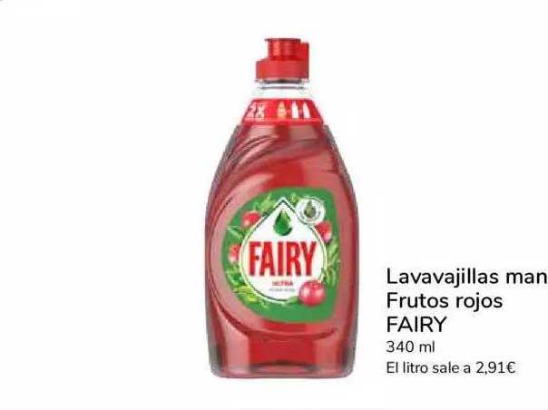 Carrefour Express Lavavajillas Mano Frutos Rojos Fairy