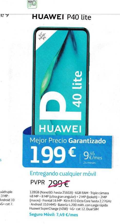 Movistar Huawei P40 Lite