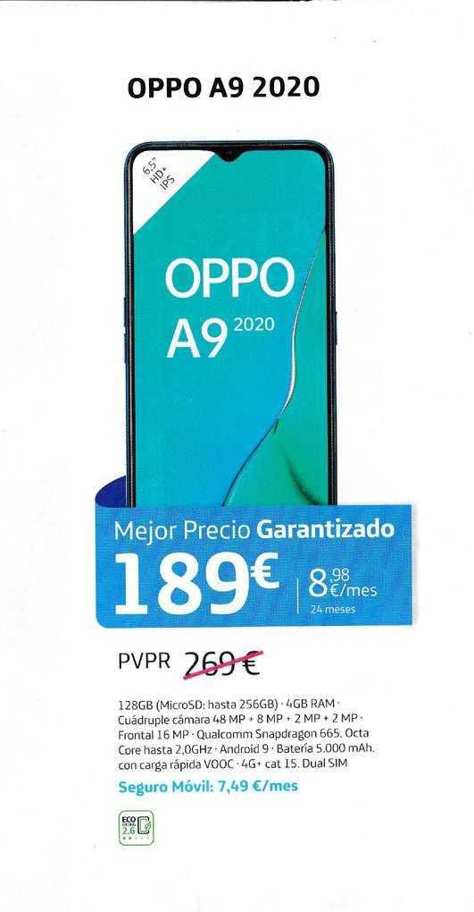 Movistar Oppo A9 2020