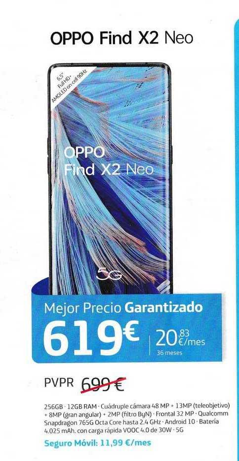Movistar Oppo Find X2 Neo