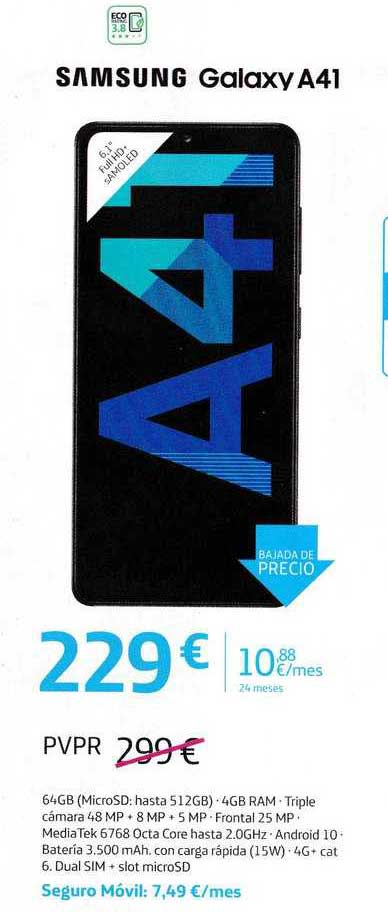 Movistar Samsung Galaxy A41