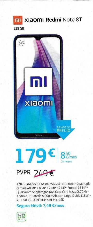 Movistar Xiaomi Redmi Note 8T