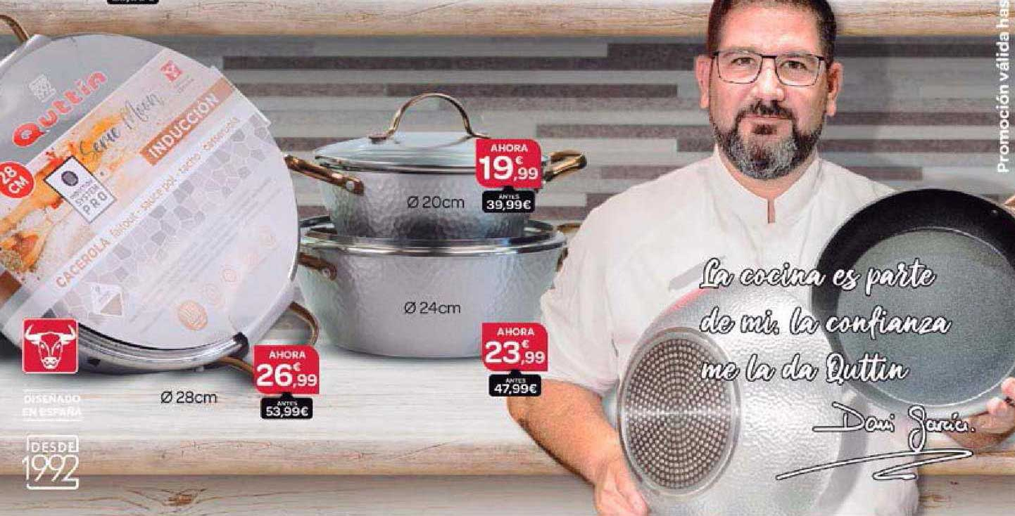 Supermercados El Jamón Batería De Cocina Quttin