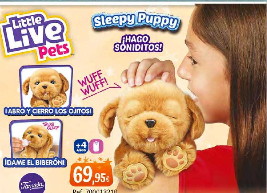 Juguetilandia Little Live Pets Sleepy Puppy