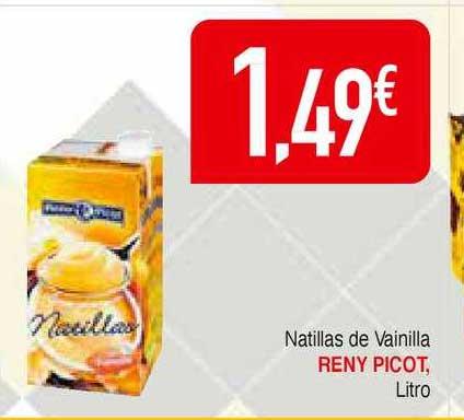 Masymas Natillas De Vainilla Reny Picot, Litro