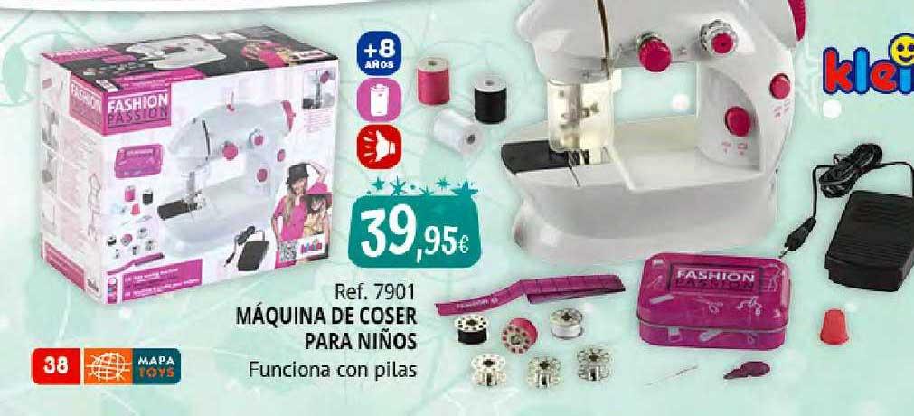 Juguetilandia Ref. 7901 Máquina De Coser Para Niños