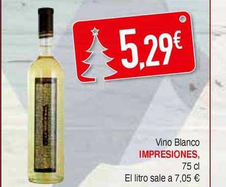 Masymas Vino Blanco Impresiones 75 Cl