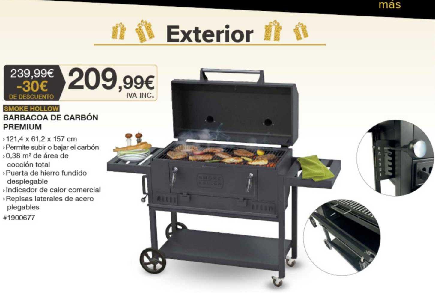 Costco -30€ De Descuento Smoke Hollow Barbacoa De Carbón Premium