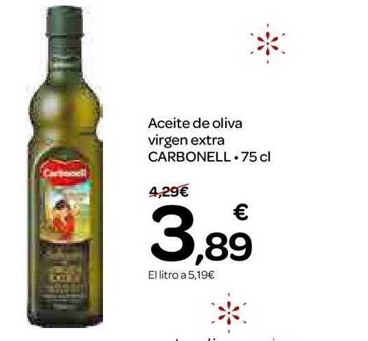 Dialprix Aceite De Oliva Virgen Extra Carbonell 75 Cl