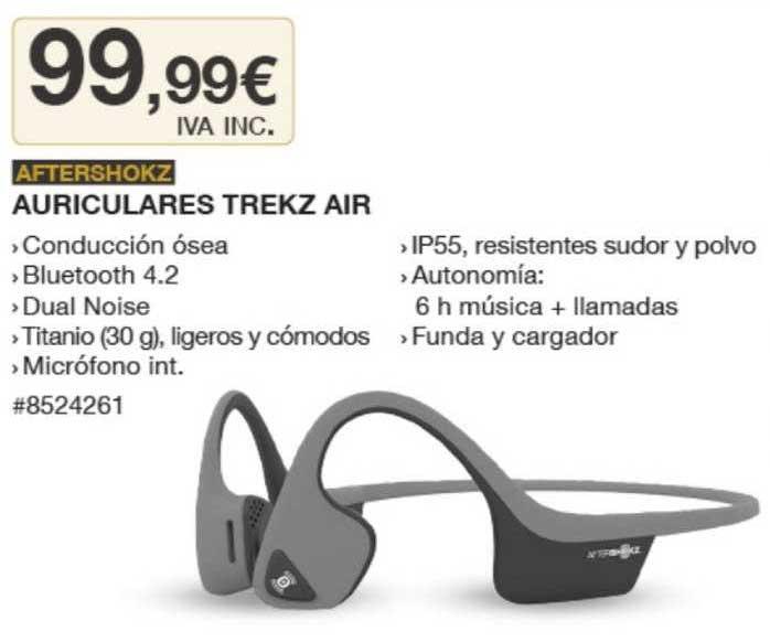 Costco Aftershokz Auriculares Trekz Air