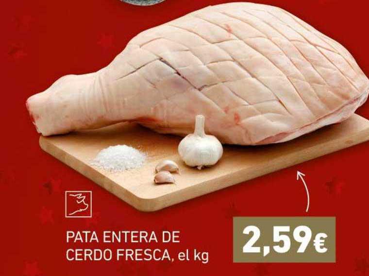 HiperDino Pata Entera De Cerdo Fresca, El Kg