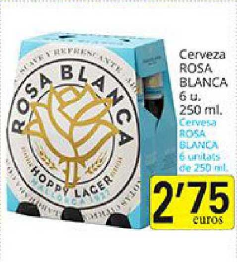 Supermercados Bip Bip Cerveza Rosa Blanca 6u. 250ml