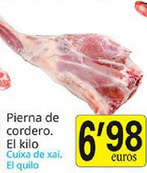 Supermercados Bip Bip Pierna De Cordero El Kilo