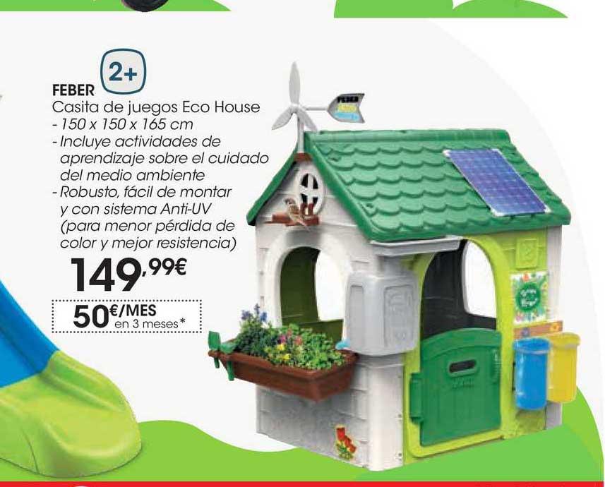 EROSKI Feber Casita De Juegos Eco House