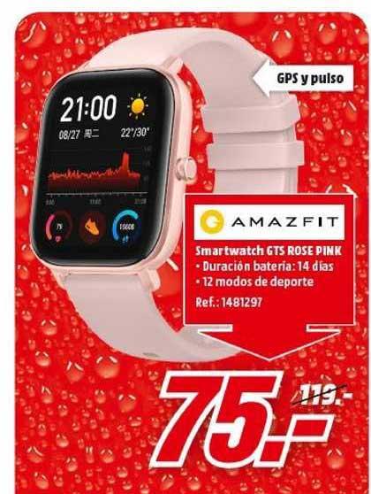 MediaMarkt Amazfit Smartwatch Gts Rose Pink