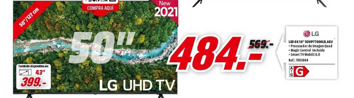 MediaMarkt Lg Led 4k 50