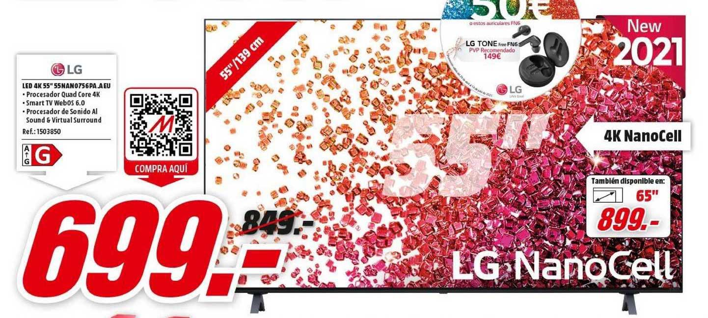 MediaMarkt Lg Led 4k 55