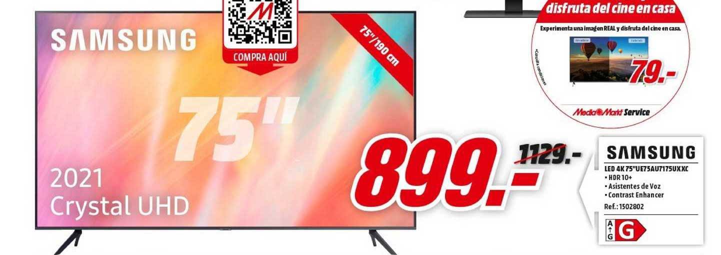 MediaMarkt Samsung Led 4k 75