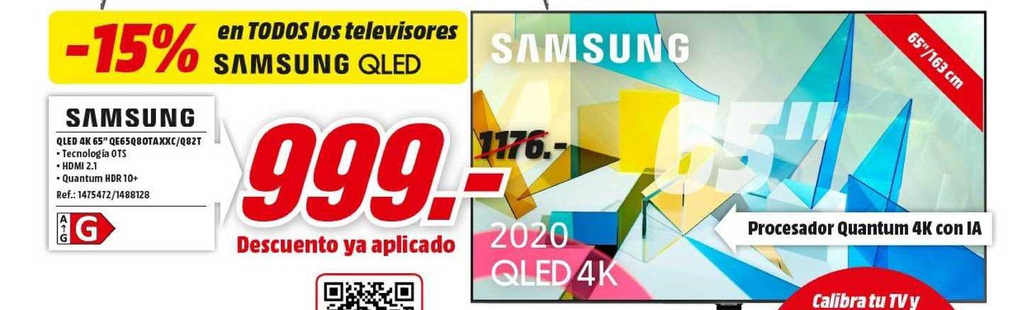MediaMarkt Samsung Qled 4k 65