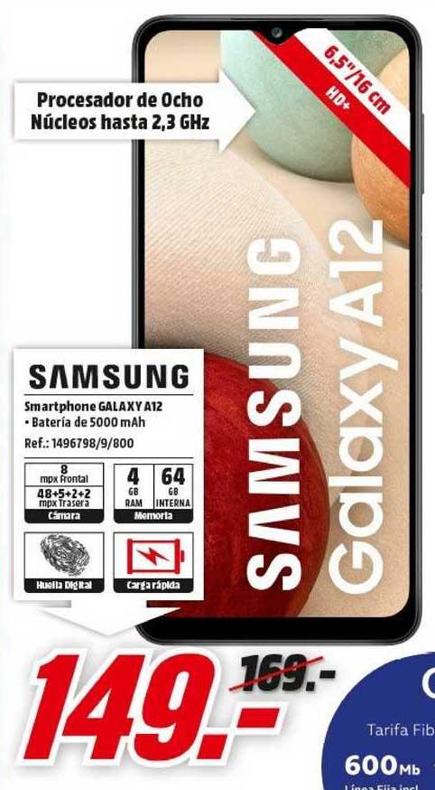 MediaMarkt Samsung Smartphone Galaxy A12
