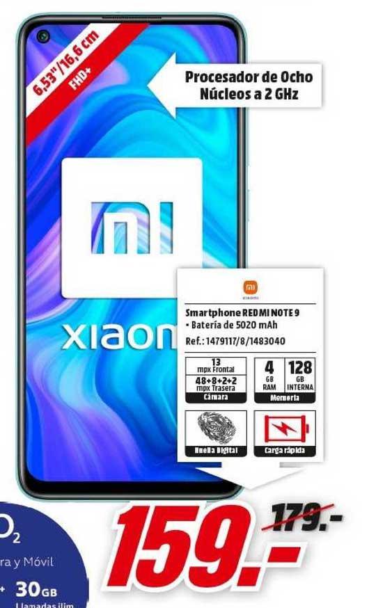 MediaMarkt Xiaomi Smartphone Redmi Note 9