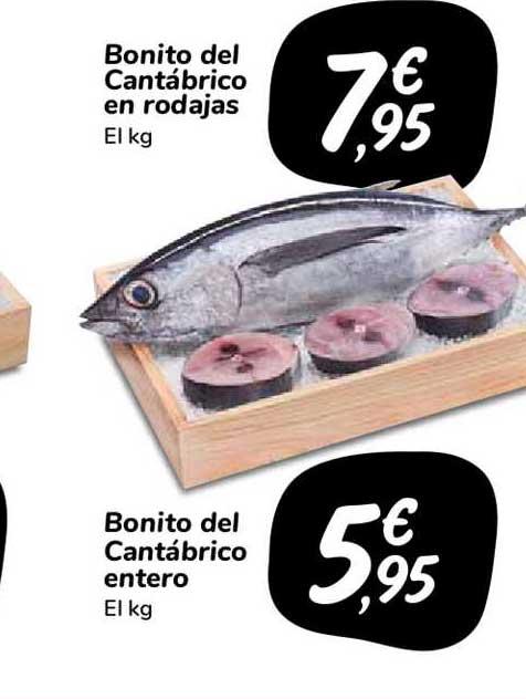 Carrefour Market Banito Del Cantábrico En Rodajas Bonito Del Cantábrico Entero