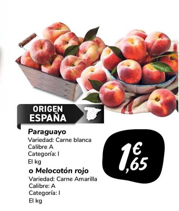 Carrefour Market Paraguayo O Melocotón Rojo