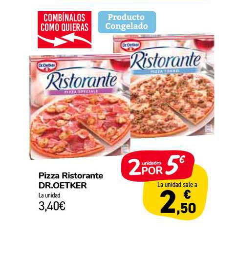 Carrefour Market Pizza Ristorante Dr.oetker