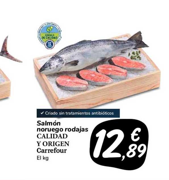 Carrefour Market Salmón Noruego Rodajas Calidad Y Origen Carrefour