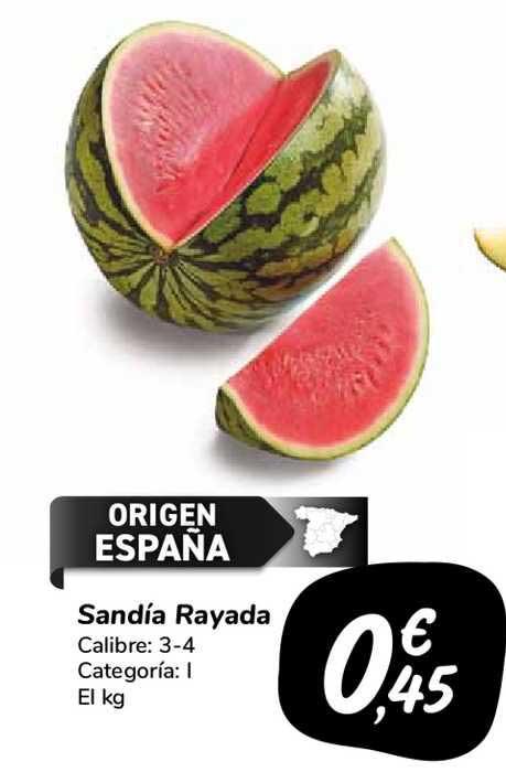Carrefour Market Sandía Rayada
