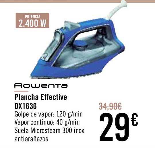 Carrefour Rowenta Plancha Effecitve Dx1636