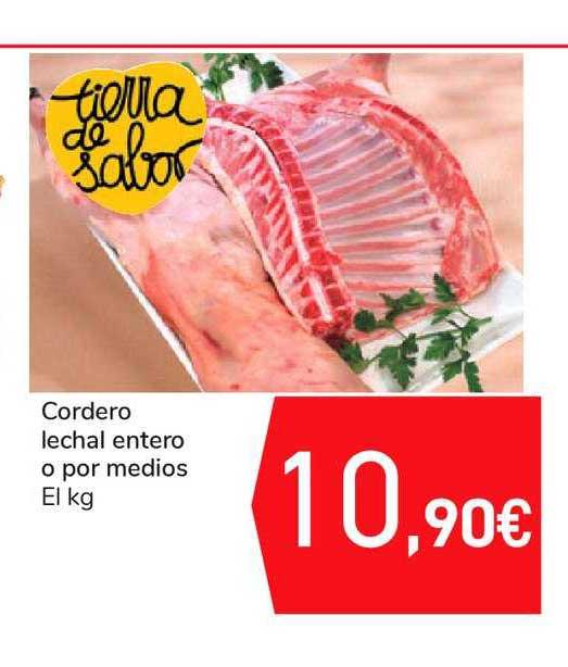Carrefour Cordero Lechal Entero O Por Medios El Kg