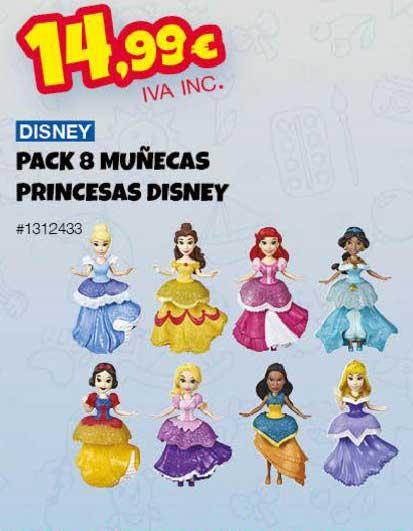 Costco Disney Pack 8 Muñecas Princesas Disney