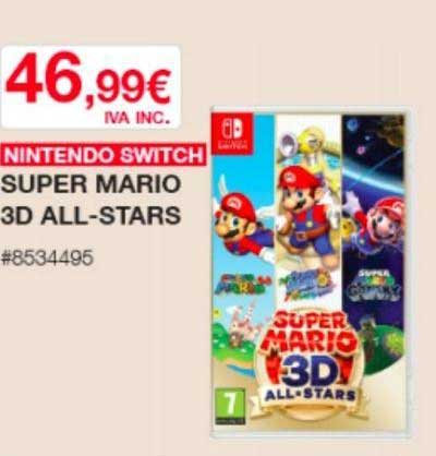 Oferta Nintendo Switch Super Mario 3d All Stars En Costco Free shipping for many products! oferta nintendo switch super mario 3d
