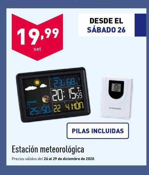 ALDI Estación Meteorológica