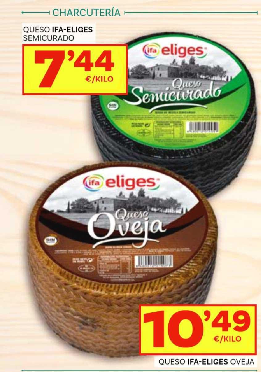 Supermercados Dani Queso Ifa-eliges Semicurado ∕ Queso Ifa-eliges Oveja