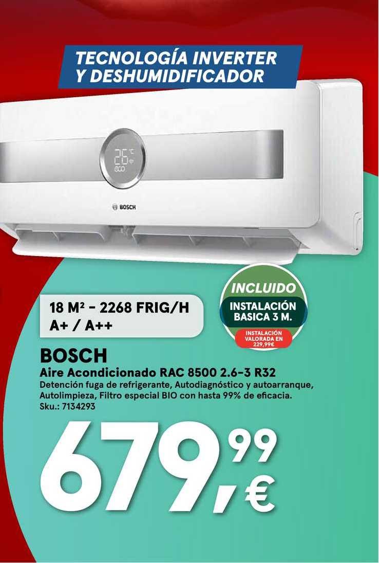 Worten Bosch Aire Acondicionado RAC 8500 2.6-3 R32
