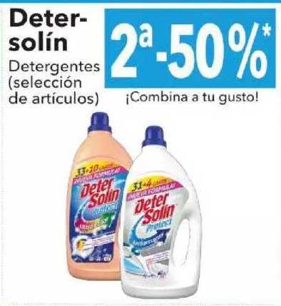 Clarel Detersolín Detergentes