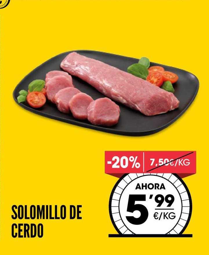 AhorraMas -20% Solomillo De Cerdo