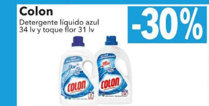 Clarel -30% Colon Detergente Líquido Azul