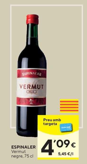 Caprabo Espinaler Vermut Negre, 75 Cl
