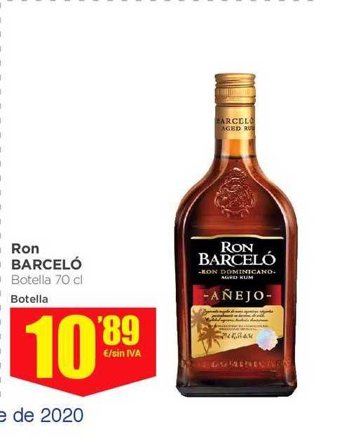 Makro Ron Barceló Botella 70 Cl