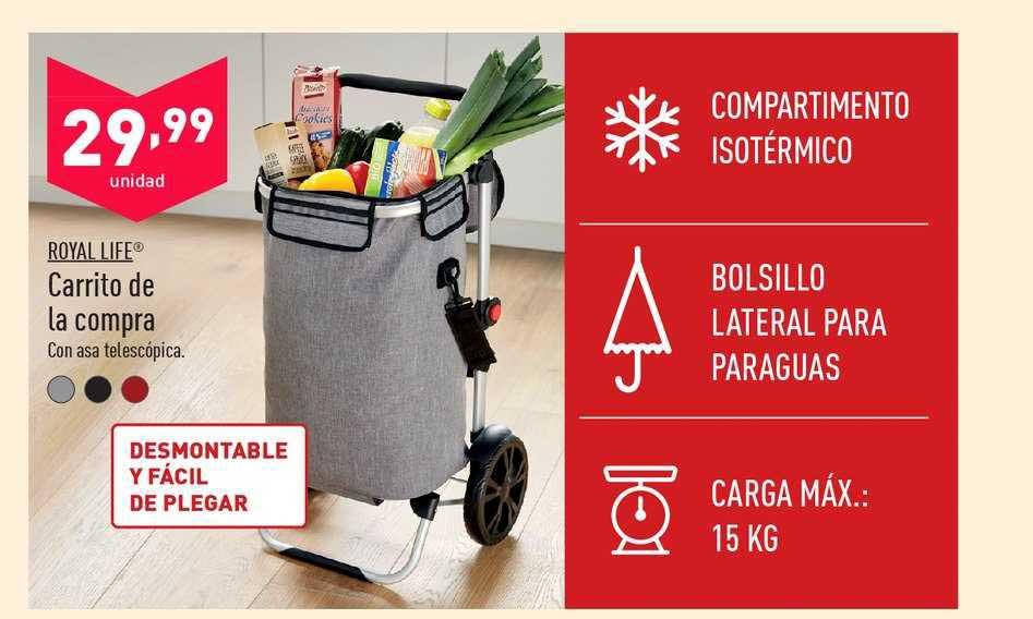ALDI Royal Life Carrito De La Compra